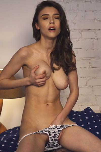 Model Mila Azul in Candles Around Me