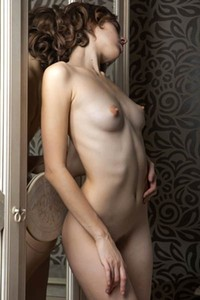 Model Gracie in Lovely Reflection