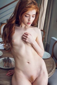 Model Jia Lissa in Before Dinner 1