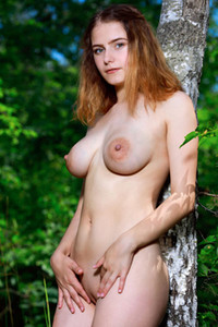 Model Dakota Pink in Country Girl