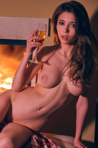 Model Mila Azul in Evening Without You 1