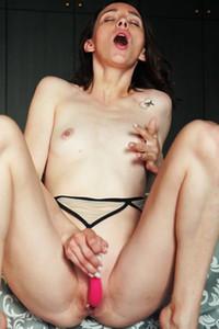 Model Adel Morel in Girlish Joy